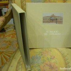 Libros de segunda mano: EL PALACIO DEL CONGRESO, DE HELENA IGLESIAS Y OTROS. MUY ILUSTRADO. CONTIENE ESTUCHE.. Lote 195432166