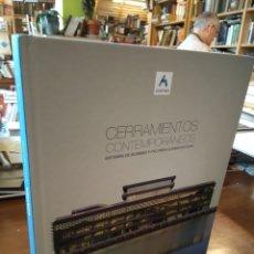 Libros de segunda mano: CERRAMIENTOS CONTEMPORANEOS. CORTIZO. Lote 195466455