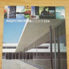 Libros de segunda mano: ARQUITECTURA COAM 334. Lote 195473051