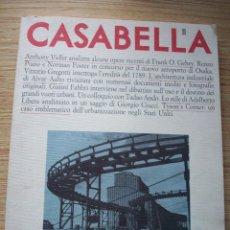 Libros de segunda mano: REVISTA INTERNACIONAL DE ARQUITECTURA CASABELLA 555 - 1989 . Lote 196369560