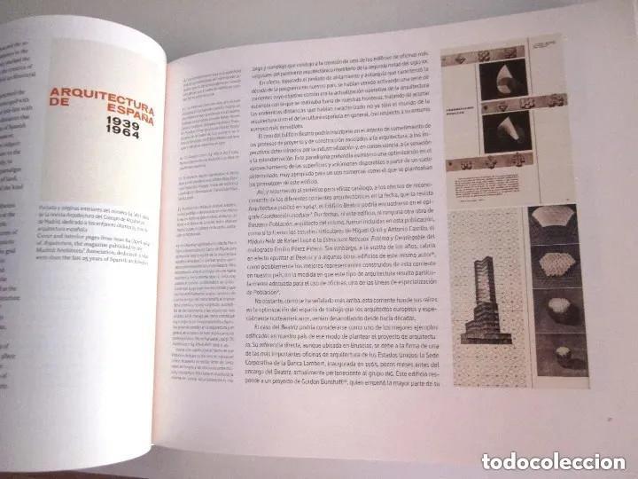 Libros de segunda mano: Edificio Beatriz Madrid 2013 La piel dura Beatriz Building The hard skin en español e inglés 432 pág - Foto 6 - 196603707