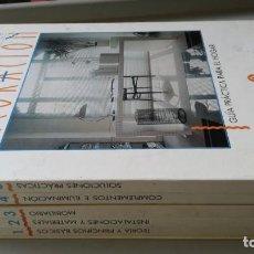 Libros de segunda mano: BIBLIOTECA ATRIUM DE LA DECORACION - 5 TOMOS EN ESTUCHE. Lote 197048747