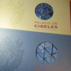 Libros de segunda mano: LOTE 2 LIBROS PALACIO DE CIBELES NUEVA SEDE Y ESPACIO CULTURAL EL EDIFICIO Y LA CIUDAD. Lote 197093393