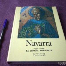 Libros de segunda mano: LA ESPAÑA ROMÁNICA: NAVARRA - LUIS MARIA DE LOJENDIO. Lote 197710020