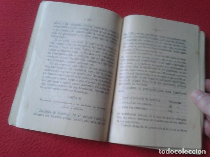 Libros de segunda mano: TARIFA DE HONORARIOS LIBRITO GUÍA SINDICATO DE LA CONSTRUCCIÓN SECCIÓN TÉCNICA APAREJADORES FALANGE? - Foto 6 - 198181055
