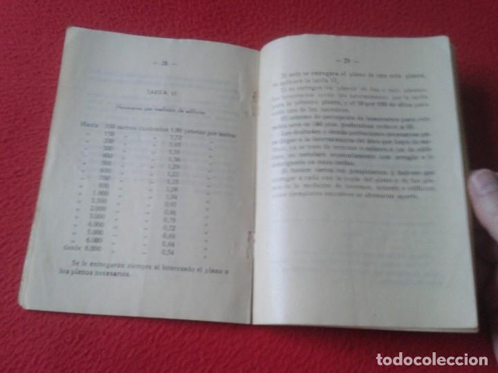 Libros de segunda mano: TARIFA DE HONORARIOS LIBRITO GUÍA SINDICATO DE LA CONSTRUCCIÓN SECCIÓN TÉCNICA APAREJADORES FALANGE? - Foto 7 - 198181055