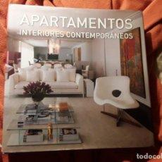 Libros de segunda mano: APARTAMENTOS (INTERIORES CONTEMPORÁNEOS) UNICO EN TC. GRAN FORMATO. 2.7K. 30X30. 503 PAG.. Lote 198240717