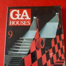 Libros de segunda mano: REVISTA GA HOUSES Nº 9, NEW WAVES IN AMERICAN ARCHITECTURE, ARQUITECTURA / ARCHITECTURE, 1984. Lote 199278100