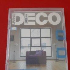 Libros de segunda mano: REVISTA LIVING DECO, Nº 1, 2006, CON CD, CAJETIN DE PLÁSTICO Y CARTA DE LANZAMIENTO-DIFICIL. Lote 199281327
