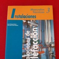 Libros de segunda mano: MANUALES TECNICOS, Nº 3, INSTALACIONES, INSTALACIONES DE CALEFACCION, COAM, 1998. Lote 199300945