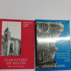 Libros de segunda mano: DOS LIBROS ,DE CÁCERES Y GALICIA. Lote 199669690