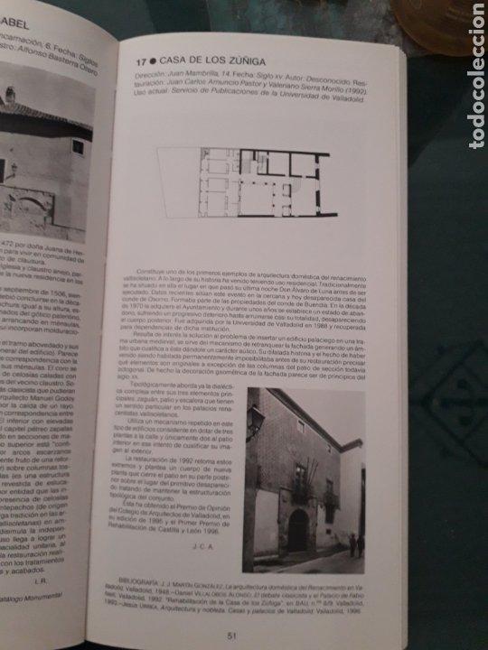 Libros de segunda mano: GUIA DE ARQUITECTURA DE VALLADOLID - JUAN CARLOS ARNUNCIO PASTOR (Dirigida ) - Foto 4 - 199796503