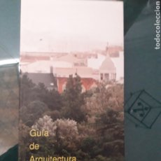 Libros de segunda mano: GUIA DE ARQUITECTURA DE VALLADOLID - JUAN CARLOS ARNUNCIO PASTOR (DIRIGIDA ). Lote 199796503