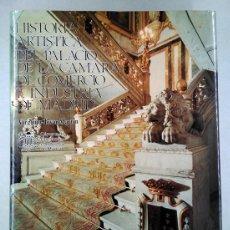 Libros de segunda mano: HISTORIA ARTÍSTICA DEL PALACIO DE SANTOÑA (CÁMARA DE COMERCIO MADRID) VIRGINIA TOVAR MARTÍN, 1987. Lote 200323367