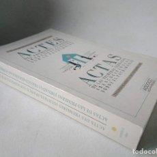 Libros de segunda mano: ACTAS DE LAS PRIMERAS JORNADAS FRANCO-ESPAÑOLAS SOBRE EL PATRIMONIO. TOULOUSE.. Lote 201476611