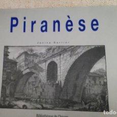 Libros de segunda mano: PIRANESE, LIBRO. Lote 202321820