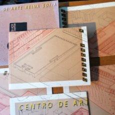 Libros de segunda mano: CENTRO DE ARTE REINA SOFÍA. PROYECTO REHABILITACIÓN CON CAJA. Lote 204246376