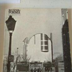 Libros de segunda mano: NUEVA FORMA Nº 110. REVISTA DE ARQUITECTURA Y ARTE (MADRID, 1975) ESPECIAL IONEL SCHEIN JORGE OTEIZA. Lote 295857703