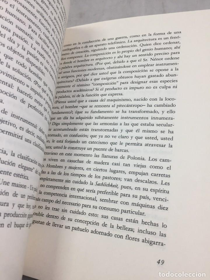 Libros de segunda mano: EL ESPÍRITU NUEVO EN ARQUITECTURA.EN DEFENSA DE LA ARQUITECTURA. LE CORBUSIER. ARQUITECTURA 7 1983 - Foto 2 - 205354620