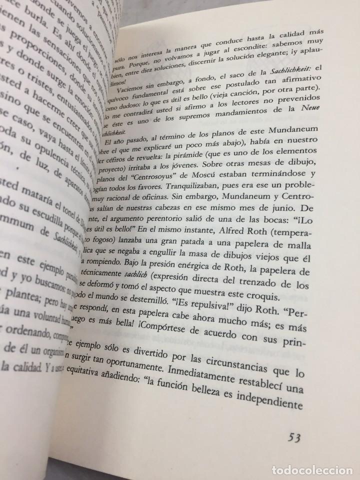Libros de segunda mano: EL ESPÍRITU NUEVO EN ARQUITECTURA.EN DEFENSA DE LA ARQUITECTURA. LE CORBUSIER. ARQUITECTURA 7 1983 - Foto 3 - 205354620