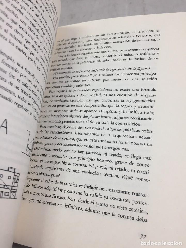 Libros de segunda mano: EL ESPÍRITU NUEVO EN ARQUITECTURA.EN DEFENSA DE LA ARQUITECTURA. LE CORBUSIER. ARQUITECTURA 7 1983 - Foto 4 - 205354620
