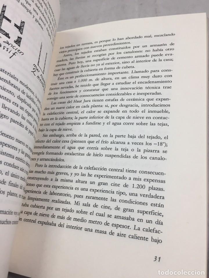 Libros de segunda mano: EL ESPÍRITU NUEVO EN ARQUITECTURA.EN DEFENSA DE LA ARQUITECTURA. LE CORBUSIER. ARQUITECTURA 7 1983 - Foto 6 - 205354620
