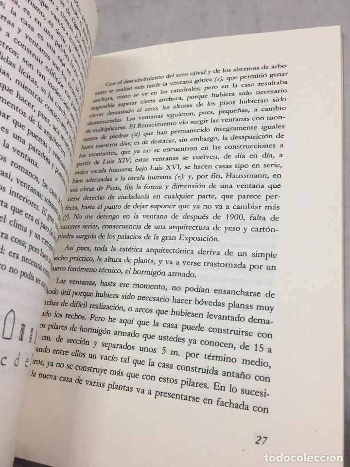Libros de segunda mano: EL ESPÍRITU NUEVO EN ARQUITECTURA.EN DEFENSA DE LA ARQUITECTURA. LE CORBUSIER. ARQUITECTURA 7 1983 - Foto 7 - 205354620