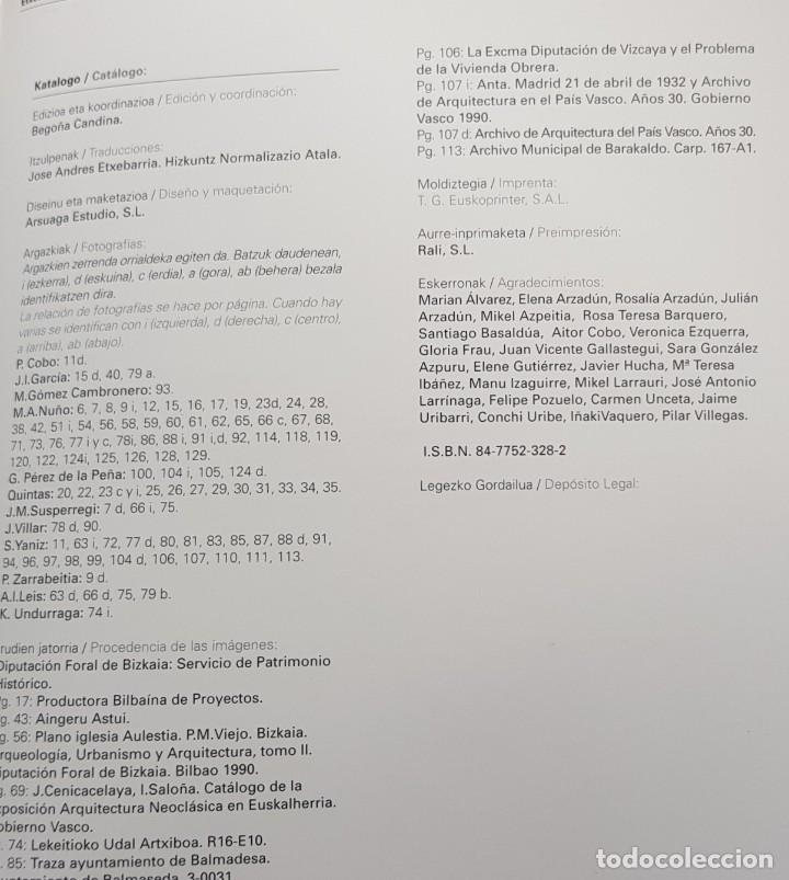 Libros de segunda mano: LIBRO ETXEA ARQUITECTURA EN EL PAIS VASCO Begoña Candina DIPUTACION FORAL DE VIZCAYA BILINGUE 2002 - Foto 7 - 205351518