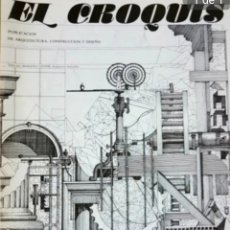 Libros de segunda mano: REVISTA DE ARQUITECTURA EL CROQUIS NÚMERO 14. Lote 205793313