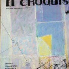 Libros de segunda mano: REVISTA DE ARQUITECTURA EL CROQUIS NÚMERO 18 Y COMPLEMENTOS. Lote 205803570
