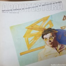 Libros de segunda mano: REVISTA ARQUITECTURA COLEGIO DE ARQUITECTOS DE MADRID NÚMERO 222. ONCE EDIFICIOS DE LA CASTELLANA. Lote 206180770