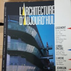 Libros de segunda mano: REVISTA ARQUITECTURA FRANCESA L'ARQUITECTURA D'AUJOURD'HUI 252 ZAHA HADID. Lote 206186120