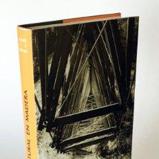 Libros de segunda mano: DISEÑO ESTRUCTURAL EN MADERA - MIGUEL ÁNGEL RODRÍGUEZ NEVADO - AITIM, ARQUITECTURA DISEÑO INGENIERÍA. Lote 206207255