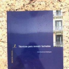 Libros de segunda mano: ARQUITECTURA Y TECNOLOGÍA 1 - TÉCNICAS PARA REVESTIR FACHADAS. Lote 206281368