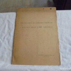 Libros de segunda mano: URBANIZACION DE CORDOBA MEDIEVAL Y ACTUALES IDEAS SOBRE URBANISMO.VICTOR ESCRIBANO UCELAY.DEDICADO P. Lote 206571596