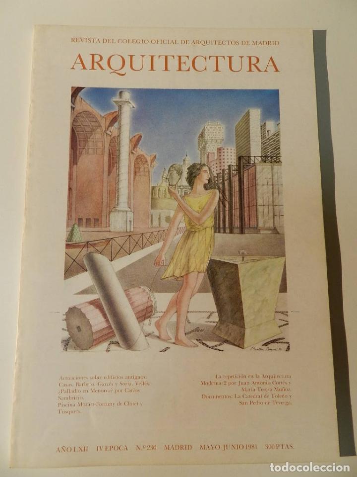 ARQUITECTURA COAM Nº 230 1981 REVISTA DEL COLEGIO OFICIAL DE ARQUITECTOS DE MADRID (Libros de Segunda Mano - Bellas artes, ocio y coleccionismo - Arquitectura)