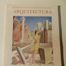 Libros de segunda mano: ARQUITECTURA COAM Nº 230 1981 REVISTA DEL COLEGIO OFICIAL DE ARQUITECTOS DE MADRID. Lote 206911532