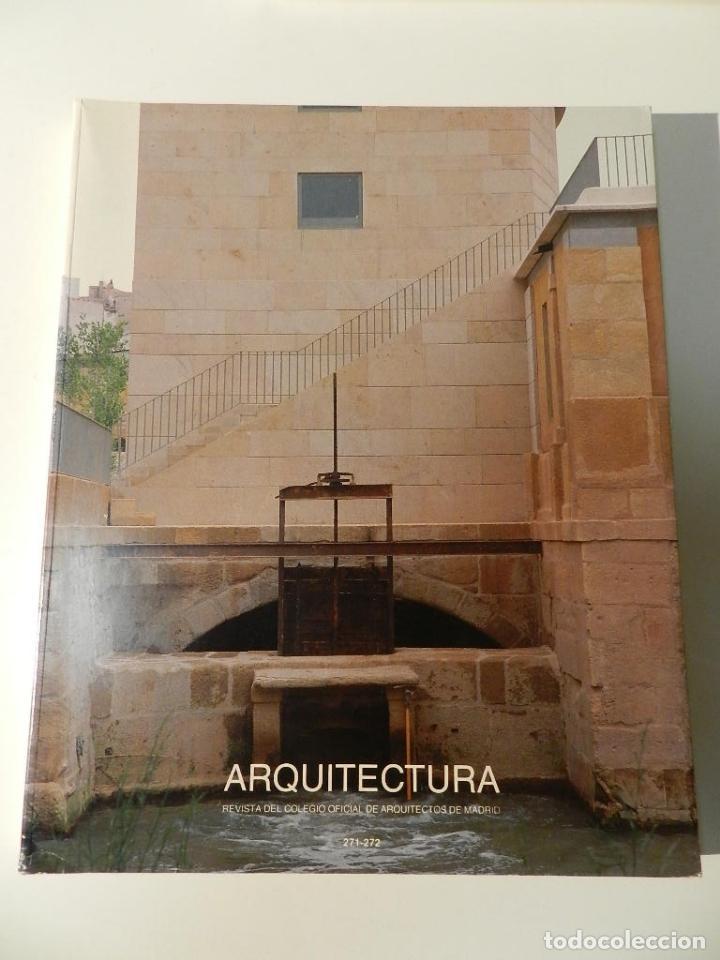 ARQUITECTURA COAM Nº 271 272 REVISTA DEL COLEGIO OFICIAL ARQUITECTOS DE MADRID (Libros de Segunda Mano - Bellas artes, ocio y coleccionismo - Arquitectura)