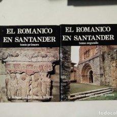 Libri di seconda mano: EL ROMÁNICO EN SANTANDER ( DOS TOMOS ) - MIGUEL ÁNGEL GARCÍA GUINEA - EDICIONES ESTUDIO -(E1). Lote 207490902