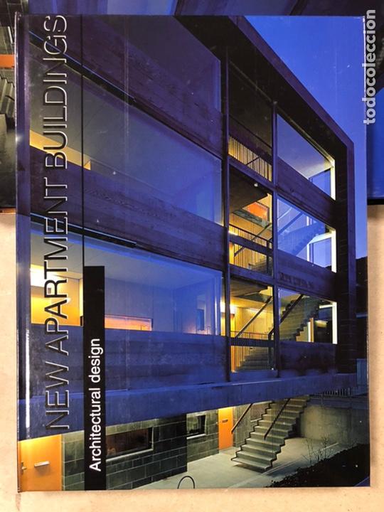 Libros de segunda mano: NEW APARTAMENT BUILDINGS. ARCHITECTURAL DESING. ARIAN MOSTAEDI. INSTITUTO MONSA DE EDICIONES. - Foto 2 - 207617816