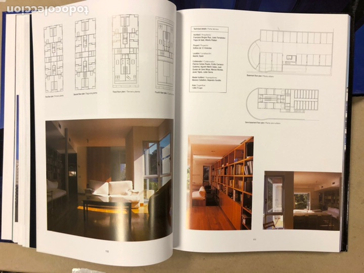 Libros de segunda mano: NEW APARTAMENT BUILDINGS. ARCHITECTURAL DESING. ARIAN MOSTAEDI. INSTITUTO MONSA DE EDICIONES. - Foto 11 - 207617816