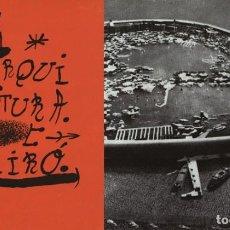 Libros de segunda mano: ARQUITECTURA COAM N 126 JUNIO 1969 REVISTA DEL COLEGIO OFICIAL ARQUITECTOS DE MADRID JOAN MIRÓ. Lote 207816435