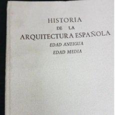 Libros de segunda mano: HISTORIA DE LA ARQUITECTURA ESPAÑOLA. EDAD ANTIGUA EDAD MEDIA. FERNANDO CHUECA. Lote 208349100