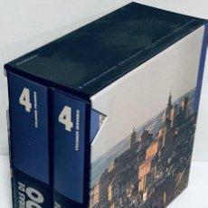 Libros de segunda mano: CERRO MALAGÓN, RAFAEL Y OTROS. ARQUITECTURAS DE TOLEDO. 2 TOMOS. Lote 208401268