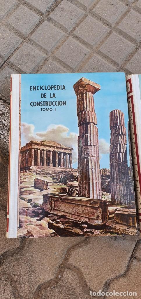 ENCICLOPEDIA DE LA CONSTRUCCIÓN (Libros de Segunda Mano - Bellas artes, ocio y coleccionismo - Arquitectura)