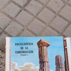 Libros de segunda mano: ENCICLOPEDIA DE LA CONSTRUCCIÓN. Lote 208694573
