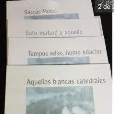 Libros de segunda mano: SACRAS MOLES. CATEDRALES DE CASTILLA Y LEÓN. Lote 208731690