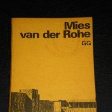 Libros de segunda mano: MIES VAN DER ROHE – COLECCIÓN ESTUDIO PAPERBACK- GUSTAVO GILI.- 3ª TIRADA 1977.. Lote 208945290