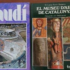 Libros de segunda mano: GAUDÍ ARQUITECTURA DEL FUTUR - EL MUSEU D'ART DE CATALUYA; M. CARME FARRÉ I SAMPERA. Lote 208998155