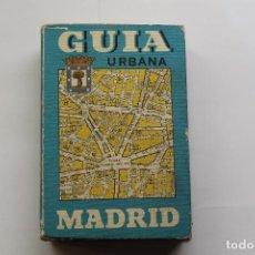 Libros de segunda mano: GUÍA URBANA DE MADRID. Lote 209207901